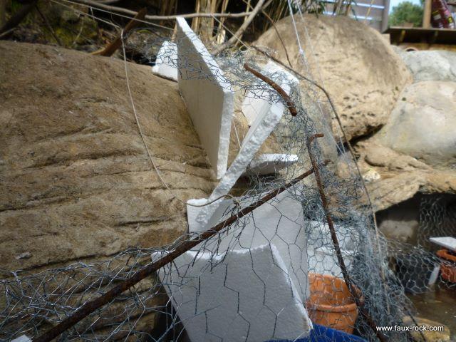 Faux rocher polystyrene - Rocher decoratif pour jardin ...
