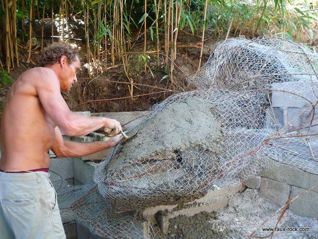 comment fabriquer un bassin construire un pont pour ruisseau plan de petit pont de jardin en. Black Bedroom Furniture Sets. Home Design Ideas
