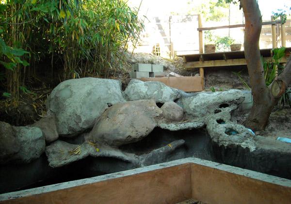 Comment construire une cascade artificielle faux rocher et mur v g tal - Comment construire une cascade ...